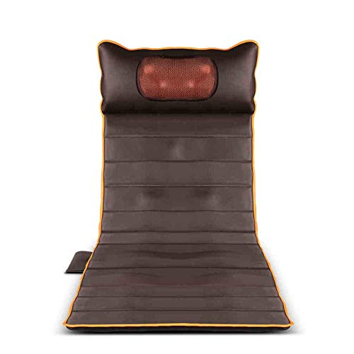 For Sale! HWZLOIK Full Body Massage Mat, Mattress with Heat and 15 Vibrating Motors for Full Body Ne...