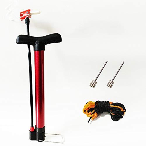 Rebily Asciende Multifuncional Baloncesto Bomba de Bicicleta de Alta presión portátil Tubo de Bola de fútbol Piscina Inflable del Anillo de Pin Baloncesto Bola del Voleibol Bola General