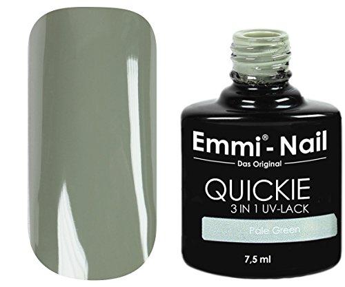 Emmi-Nail UV-nagellak, zonder zweetlaag, geen onder- en overlak vereist, 7,5 ml Helder mintgroen