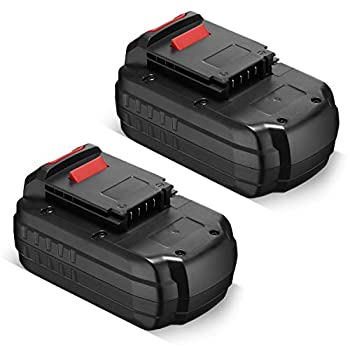 Dutyone 2 Pack 3.7Ah Replacement Battery Compatible with Porter Cable 18V Cordless Power Tools PC18B PCC489N PCMVC PCXMVC PCC489N PC18BL PC18BLX PC18BLEX PC18B-2 18-Volt Ni-CD Batteries