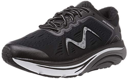 MBT Rocker Bottom Shoes Men's – Athletic Running Walking Shoe MBT-2000 - Black
