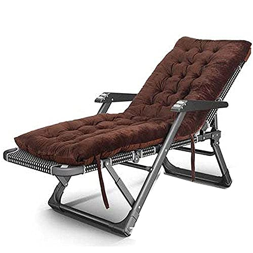 Patio Lounge Chairs Beach Chair,Folding Chair, Easy Access To The Beach Chair, Balcony Leisure Home Chair Bed, Back To The Lazy Sofa-Straight Black
