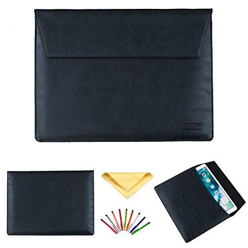 Uliking 11.6-12.9 Inch Laptop Tablet Sleeve Bag Case for iPad Pro 12.9/MacBook Pro/air/Surface Pro 3/4/5/6 12.2' 12.3' 12' 11' 11.6' for Huawei Lenovo for Dell for HP ASUS Acer Chromebook, Black