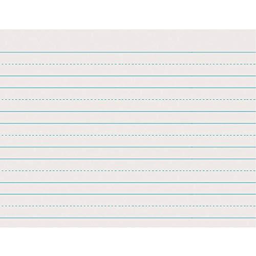 Pacon Skip-A-Line Ruled Newsprint, 11'X8 1/2', Grade 1, 500 Sheets