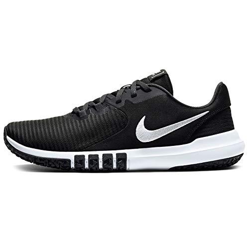 Nike Men's Flex Control TR4 Cross Trainer, Black/White-Dark Smoke Grey-Smoke Grey, 11 4E US