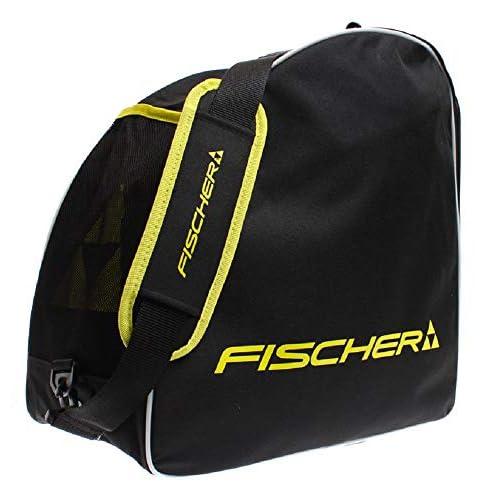Fischer Borsone per scarponi da sci, nero/giallo, Taglia unica