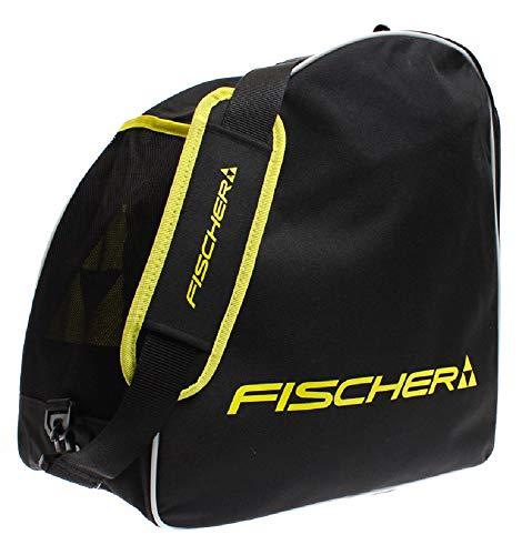 Fischer Unisex– Erwachsene Skibootbag Alpine Eco, schwarz/gelb, OneSize