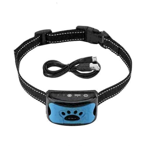 Collar de Perro antiladridos Rwtcft, Dispositivo de Collar antiladridos de Recargable, Collar de ladridos Ajustable de 7 sensibilidad Dispositivo, para Perros pequeños, medianos y Grandes.