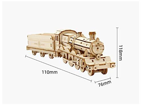 Holz 3D dreidimensionale Puzzle Erwachsenen Harry Potter Modell Kinder montiert Puzzle Dekompression Bausteine-Hogwarts Express Train