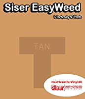 Siser EasyWeed アイロン接着 熱転写ビニール - 12インチ 50 Yards HTV4USEW12x50YD