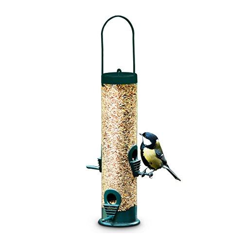 Vogel-Futterstation zum Aufhängen, 25x6cm, ohne Futter