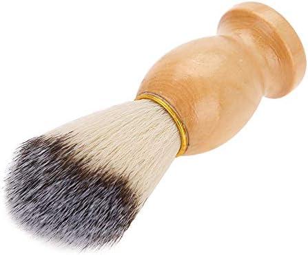Kapper Salon Tool Draagbaar Comfortabel scheerkwast Mannen scheerkwast thuisgebruik voor gebruik in de salon