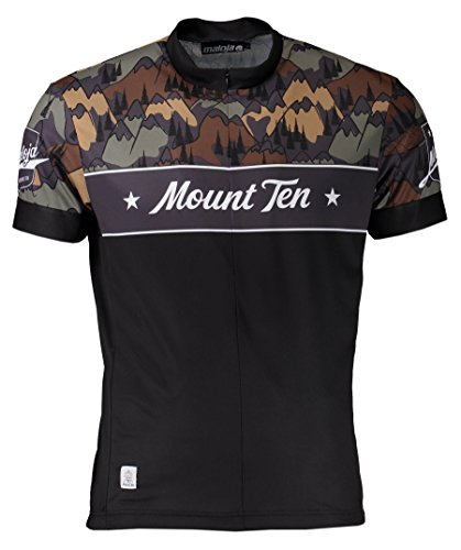 Maloja Herren Radtrikot Mount TenM. moonless gr. S schwarz black