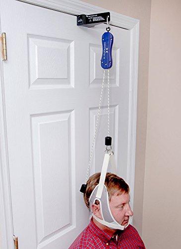 Preisvergleich Produktbild NeckPro II Cervical Traction Device - Adjustable Door Bracket Model