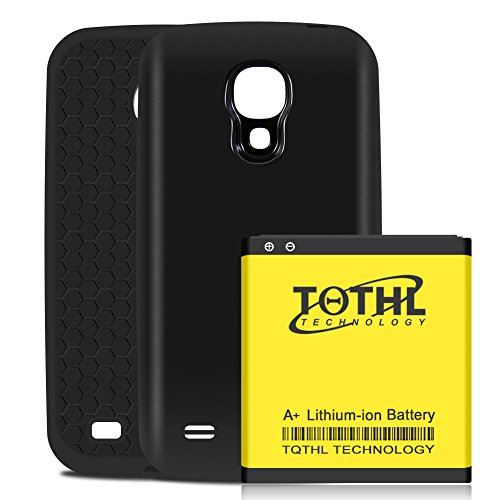 Galaxy S4 Battery, Upgraded 6200mAh Li-ion Replacement Phone Batteries for Samsung Galaxy S4 AT&T...