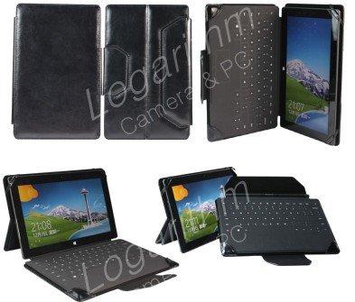 Microsoft Surface Pro/RT 両対応ケース 黒ブラック【ネットショップ ロガリズム】FCMS003-K