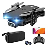 GPS Drone Camera FPV for Adults and Kids, Live Video S66 720P 4k Drone Quadcopter with Carrying Bag Wide Angle Camera Adjustable HD WiFi Function Follow Me Headless Easy to Use for Beginner