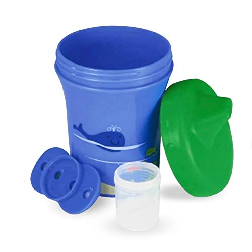 Sippy Sure Medicine Dispensing Sippy Cup, Kids Cup With Built In Medicine Cup (1-Pack)