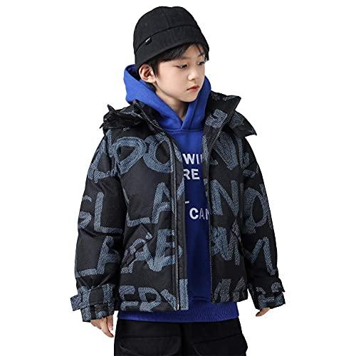 Chaqueta de moda guapo de la chaqueta, la impresión corta gruesa de la impresión nueva chaqueta acolchada hacia abajo con la chaqueta del soplado del invierno Ocio a prueba de viento Chaqueta de los n