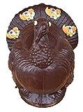 """10"""" Vegan Dark Chocolate Turkey Thanksgiving Gift Decoration Kosher Parve,"""