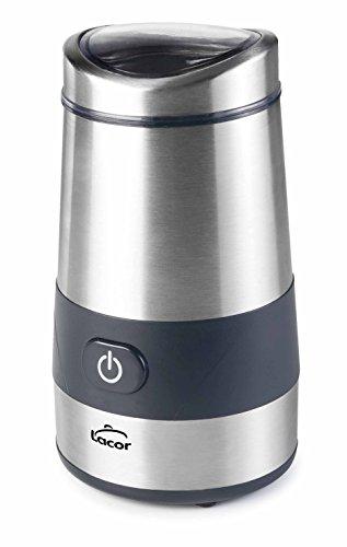 Lacor 69385 Molinillo de Café, 200 W, Acero Inoxidable