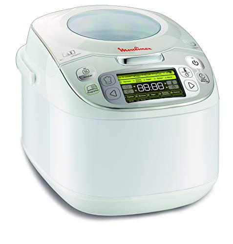 MK812101   Robot de cocina 45 en 1, para 5 a 6 personas, plateado, 5 l