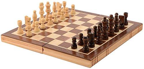 Kangaroo Folding Wooden Chess Set with Magnet Closure - Original