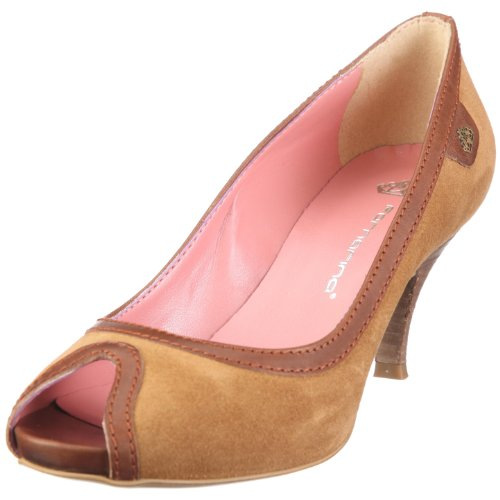 Fornarina Damen MILLY Pumps, Braun/camel/rust, 40 EU