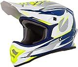 O'Neal 3Series Riff Motocross Helm MX MTB FR DH Mountain Bike Freeride Downhill Fahrrad, 0623-R-Adult, Farbe Blau, Größe S