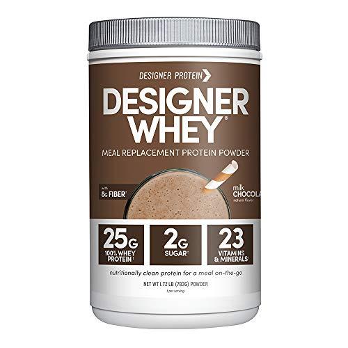 Designer Whey Protein Meal Powder, Milk Chocolate,...