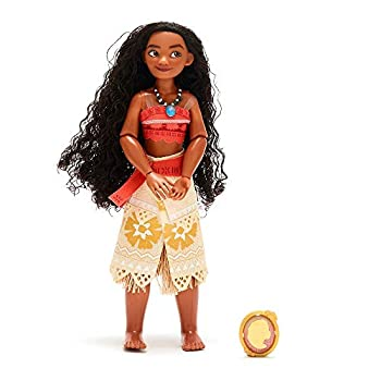 Disney Moana Classic Doll with Pendant – 10 ½ Inches