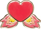 Crocs Elevated Flame Heart, Encantos para Zapatos Unisex Adulto, Multicolor, Talla única