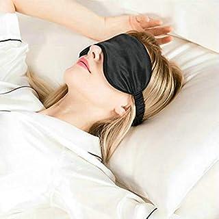 新しいナチュラルピュアシルクスリーピングマスクスーパースムース睡眠休息アイマスクパッドシェードカバー旅行リラックス援助目隠し送料無料