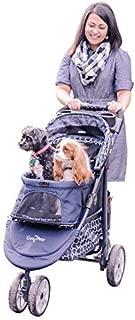 Gen7Pets Monaco Pet Stroller for Dogs or Cats, Dress Blues by Gen7Pets