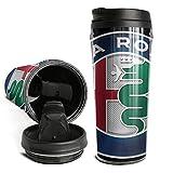 Coffee Mugs Travel Alfa-Romeo-Sports-car-giulia-suv- for Women Men Double Wall Insulated Thermal Travel Mugs 16 Oz