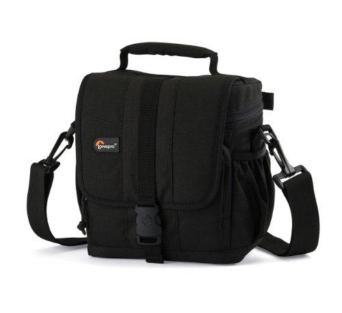Lowepro Adventura 140 - Bolsa con compartimientos para cámaras, Negro