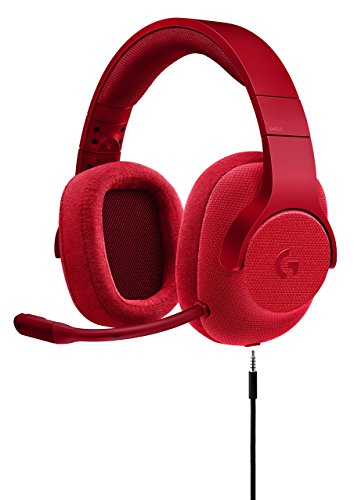 Logitech Compatible with Logitech 981-000650 - G433 Wired 7.1 Gaming Headset, Red (Renewed)