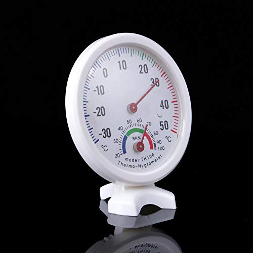 Nikou Thermometer - TH108 Indoor Analoge Temperatuur Vochtigheid Meter Thermometer Hygrometer -30 ~ 50 °C H