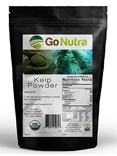 1 LB. Organic KELP Powder Seaweed Pure (16 oz) ~ Canadian SOURCED SUPERFOOD