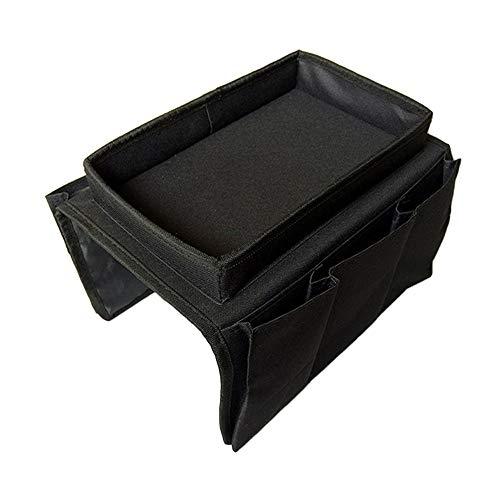 XH Caja de almacenamiento multifunción plegable tridimensional sofá brazo bolsa de almacenamiento TV control remoto desechos teléfono