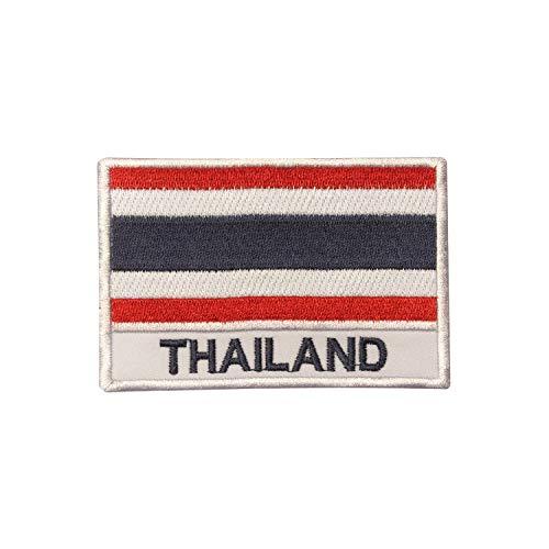 Parche bordado bandera nacional Tailandia