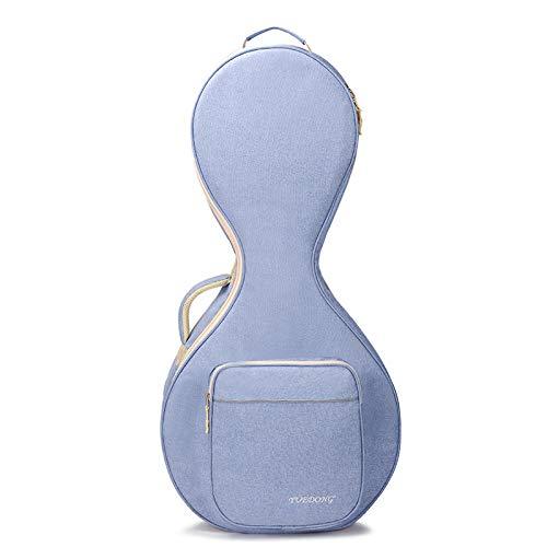 HOMDREAM Zhongruan-Paket wasserdichte Zhongruan-Tragetasche Rucksack-Tasche Reißfestes Oxford-Tuch,Blue