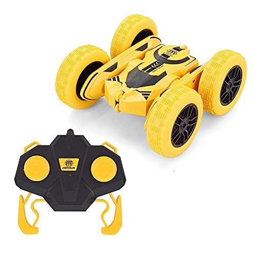 ADSVMEL RC Stunt Car Juguetes para niños 2.4G Control remoto Stunt Car con tracción en las 4 ruedas Giros y volteretas de 360 ° Estado de deportes fuera de la carretera Adecuado para cualquier terre