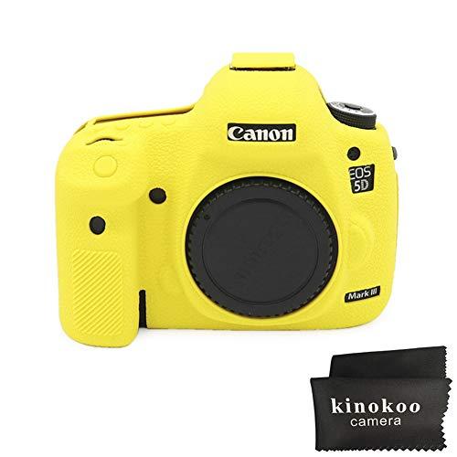 Kinokoo - Carcasa de Silicona para Canon EOS 5D Mark III