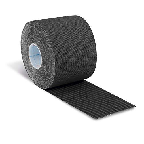 Aktimed Tape plus - Sport Tape mit integrierten pflanzlichen Extrakten, Patentiertes 2in1 Physio Tape, Designed in Deutschland [Schwarz]
