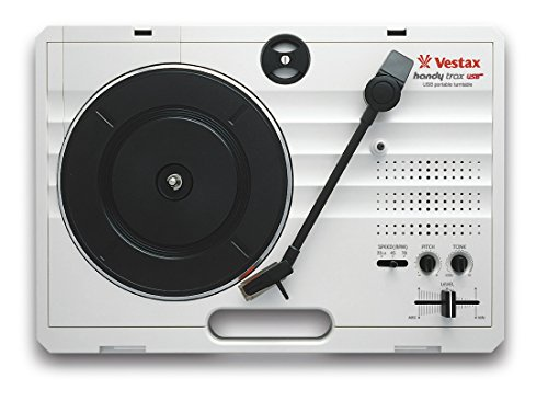 Vestax Handy Trax USB tragbarer MiniDisc Player grau – Player und Rekorder Mini-disques (370 x 260 x 97 mm, 2 kg, grau)