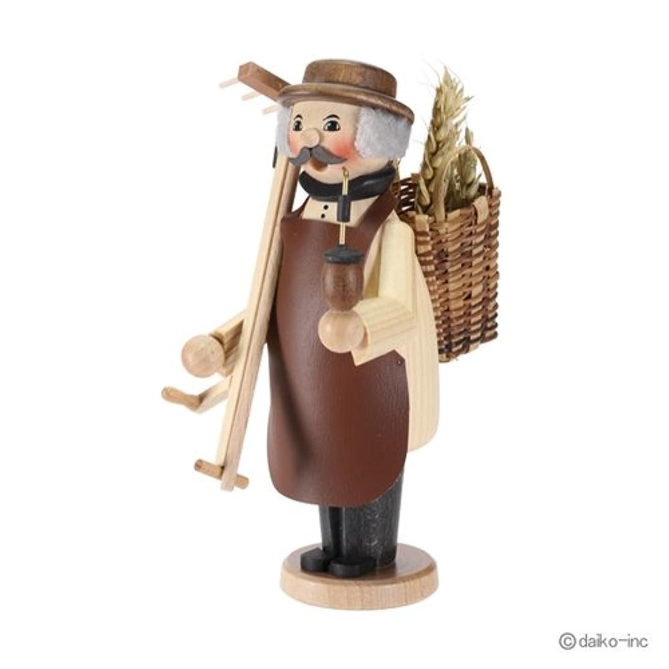 反毒若者妥協クーネルト kuhnert ミニパイプ人形香炉 農夫