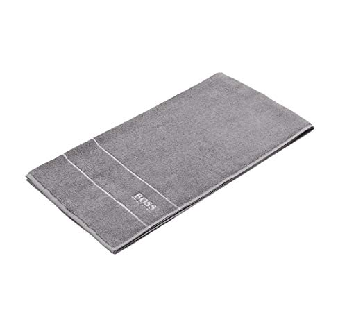 Hugo Boss SAUNATUCH Badetuch Handtuch Strandtuch Grey 1,40 x 0,70