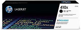 HP 410X (CF410X) Toner Cartridge, Black High Yield for HP Color LaserJet Pro M452dn M452dw M452nw MFP M377dw MFP M477fdn MFP M477fdw MFP M477fnw