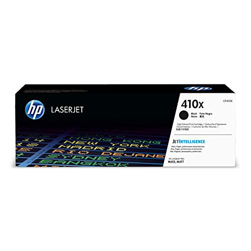 HP 410X | CF410X | Toner Cartridge | Black | High Yield
